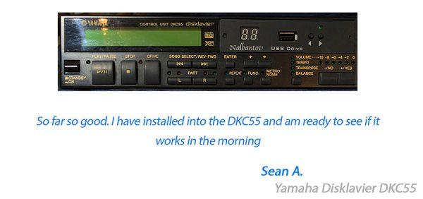 Yamaha Disklavier floppy emulator