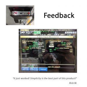 Feedback Arburg Centrex 420C